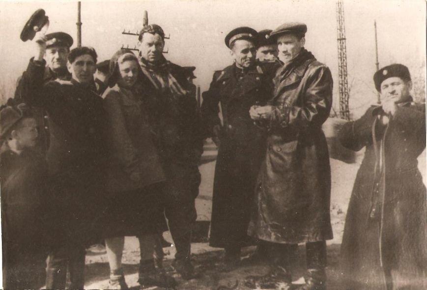 Группа МВД по обследованию ктакомбы Солдатенко