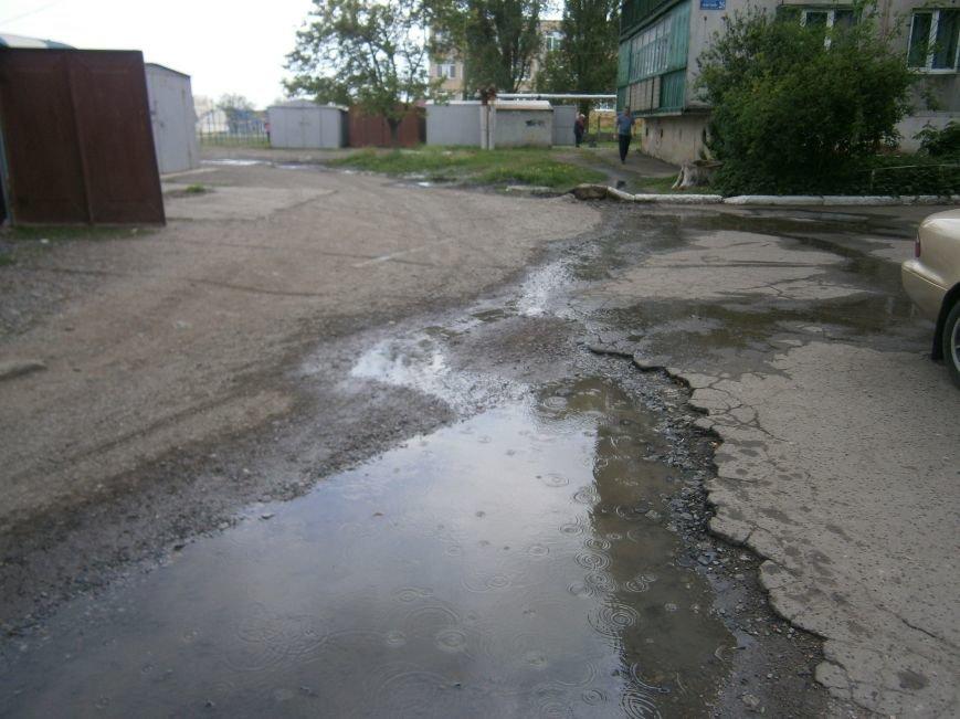 М-н «Светлый» затапливает канализацией, а Новатор – водой, или что не дает Димитровскому водоканалу своевременно устранять порывы (фото) - фото 6