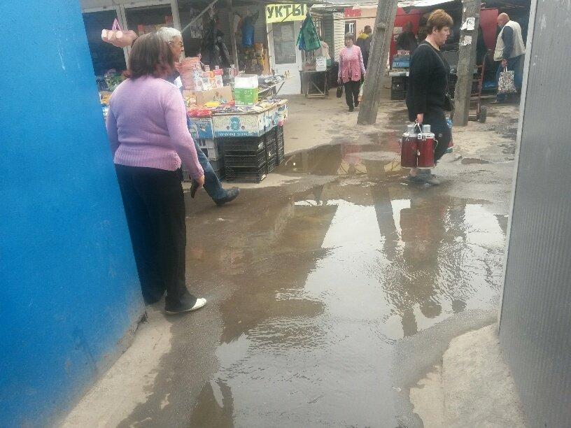 В Мариуполе фекалии затопили овощной рынок (ФОТО), фото-4