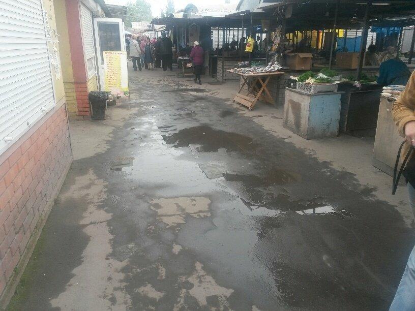 В Мариуполе фекалии затопили овощной рынок (ФОТО), фото-1