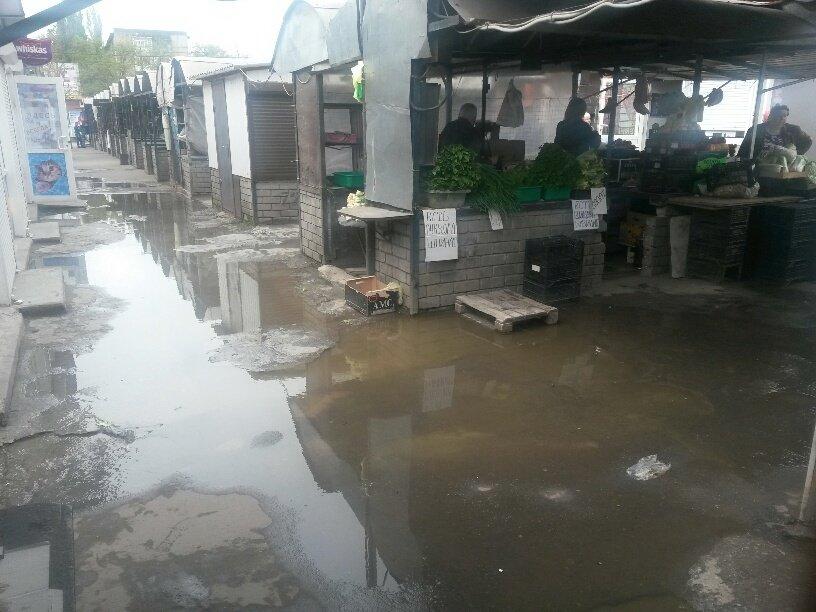 В Мариуполе фекалии затопили овощной рынок (ФОТО), фото-5