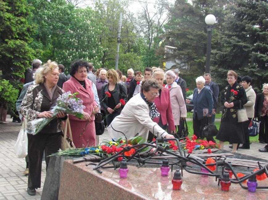 Мариупольцы почтили память жертв политических репрессий (ФОТО), фото-6