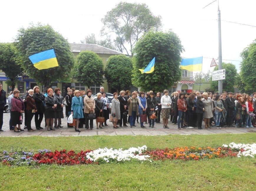 В Днепродзержинске почтили память жертв политических репрессий (фото) - фото 2