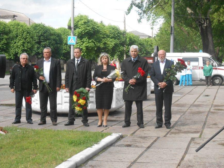 В Днепродзержинске почтили память жертв политических репрессий (фото) - фото 4