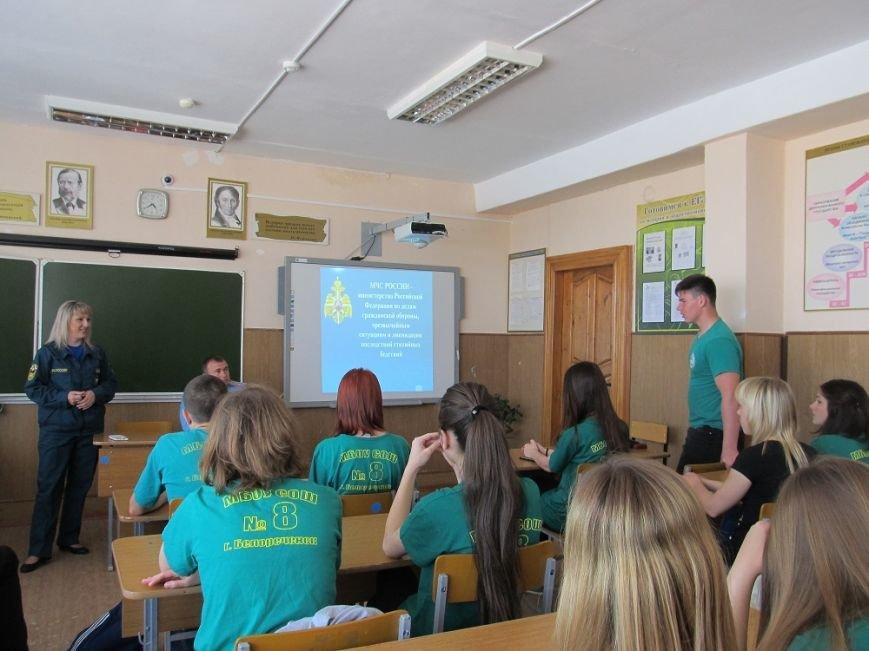 Учащихся продолжают обучать тому, как действовать при пожаре, фото-4