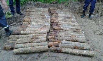 У Львові на території музичної школи виявили 55 снарядів (фото) - фото 1