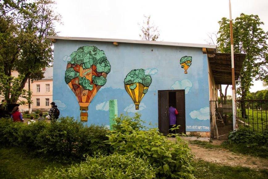 Франківські художники Kickit Art Studio розмалювали школу-інтернат у Бориславі (ФОТО), фото-3