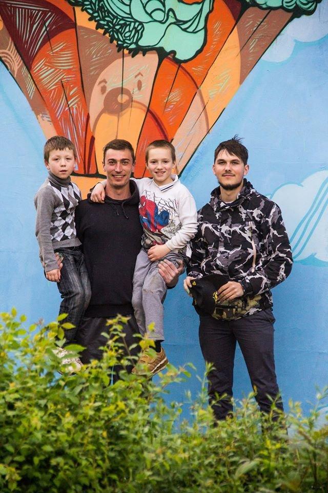 Франківські художники Kickit Art Studio розмалювали школу-інтернат у Бориславі (ФОТО), фото-2
