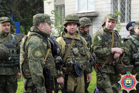 Аброськин провели боеготовность мариупольских милиционеров (ФОТО) (фото) - фото 1