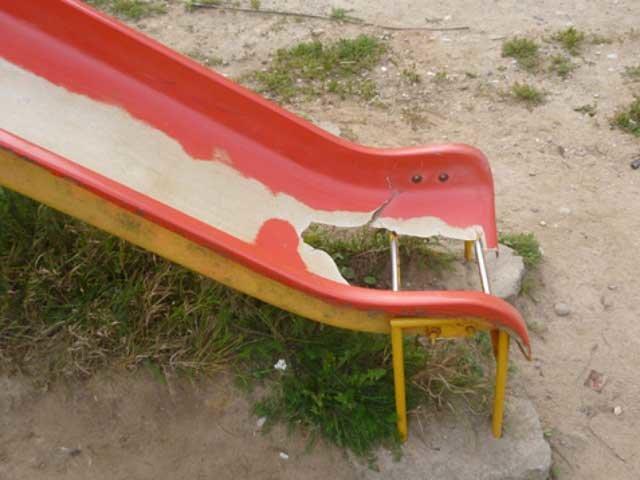 Вандализм по-макеевски: «сломать, исчеркать, поджечь» (фото) - фото 1