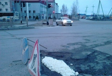 Монтажная пена-ремонт дорог1