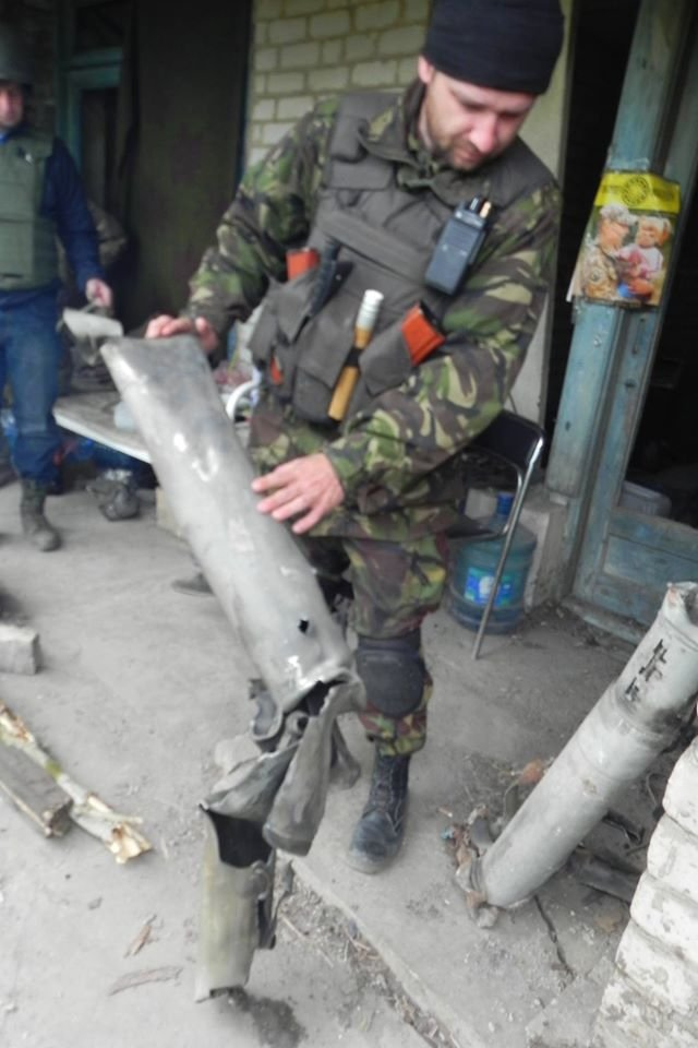 Боевики обстреляли автомобиль заместителя комбата «Донбасса», фото-1