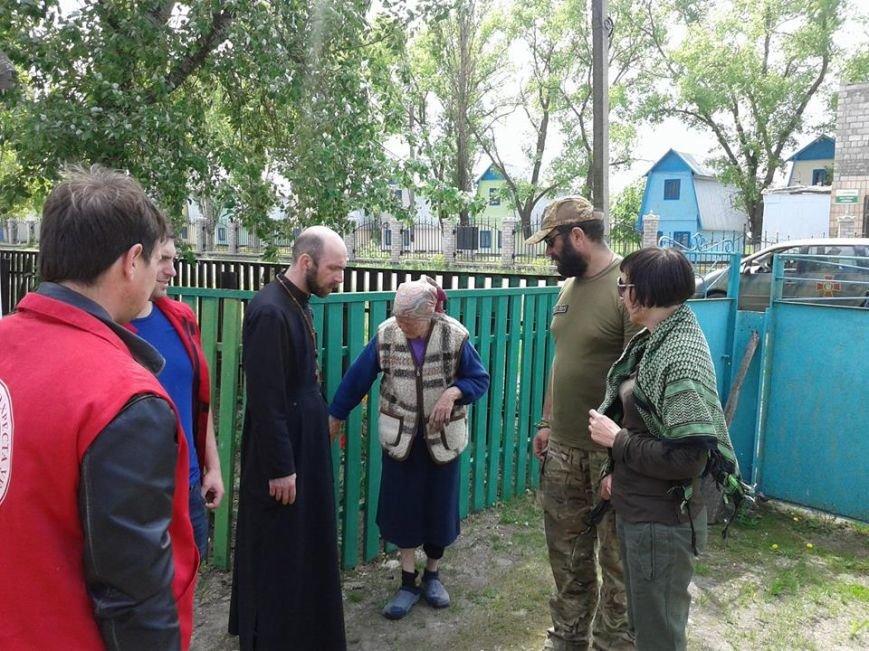 Волонтеры Красного Креста навестили жителей Лебединского и Бердянского (ФОТО), фото-1
