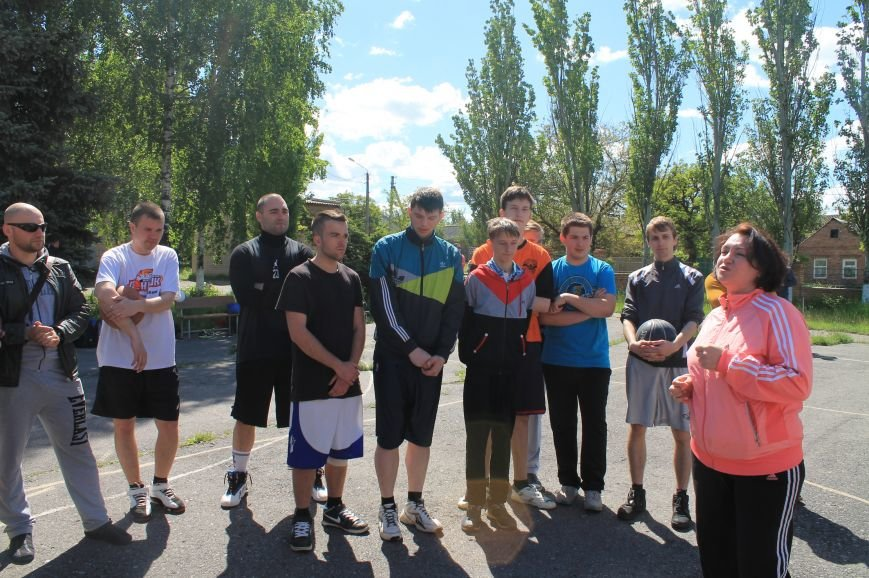 В Артемовске открыли турнир по стритболу, фото-1