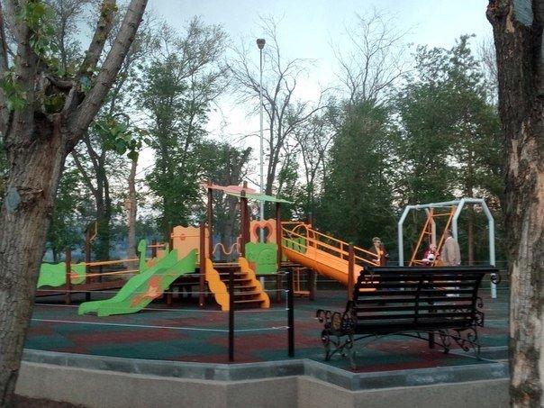 В Волгограде открыли ротари-парк, фото-1