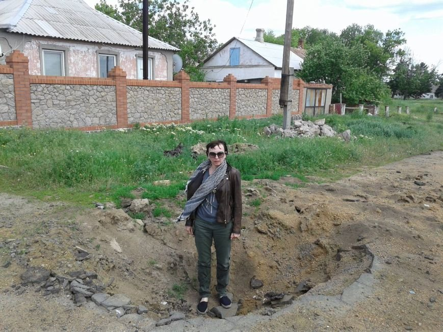 Жители военного Гранитного просят освободить украинскую территорию от россиян (ФОТО+ВИДЕО), фото-3