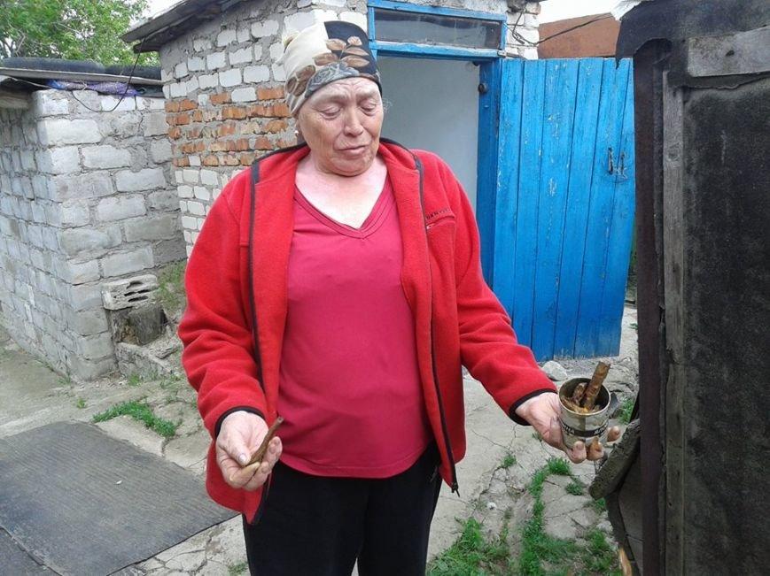 Жители военного Гранитного просят освободить украинскую территорию от россиян (ФОТО+ВИДЕО), фото-11
