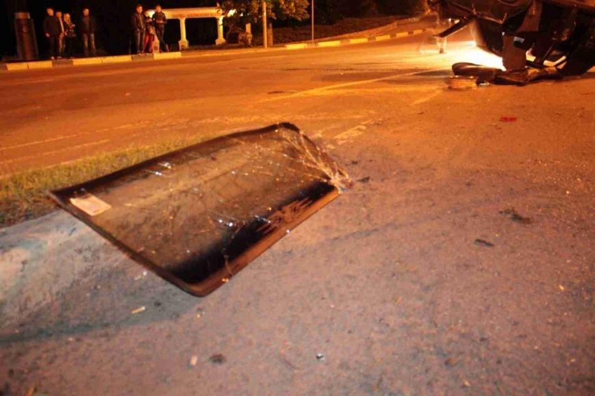 ДТП в Сумах: «семерка» проехала на красный, врезалась и перевернулась (ФОТО), фото-12