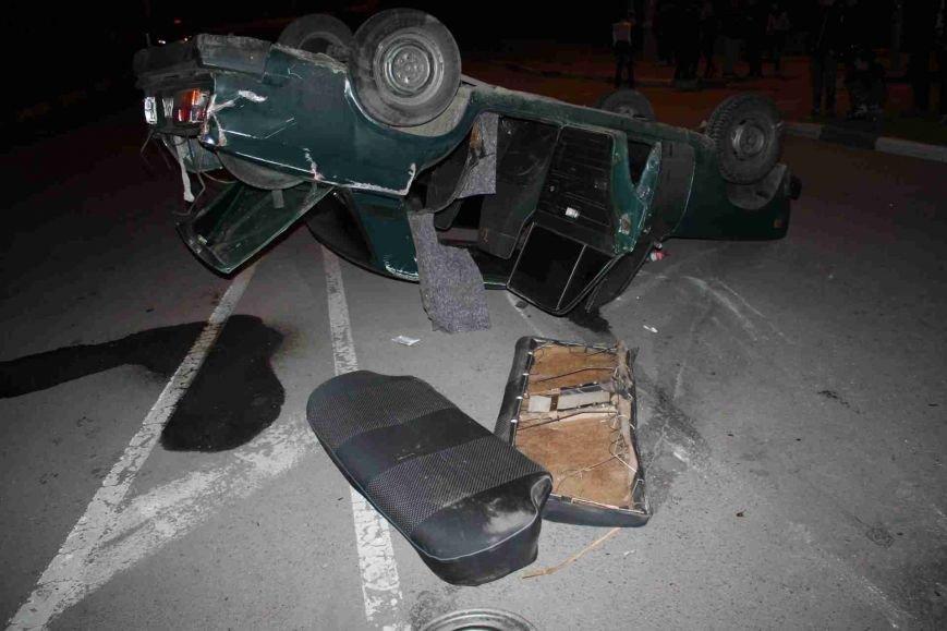 ДТП в Сумах: «семерка» проехала на красный, врезалась и перевернулась (ФОТО), фото-5