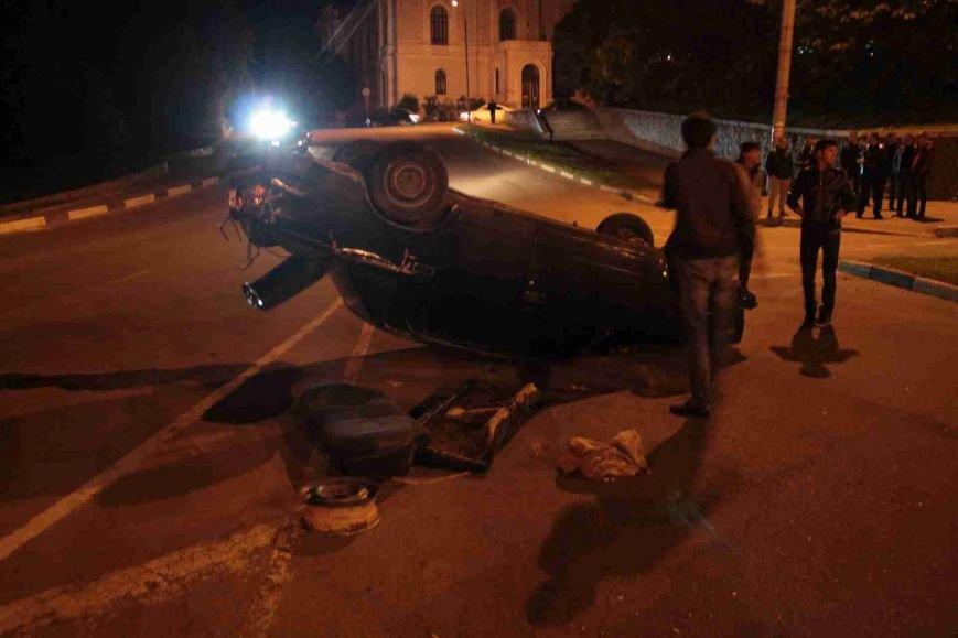 ДТП в Сумах: «семерка» проехала на красный, врезалась и перевернулась (ФОТО), фото-16