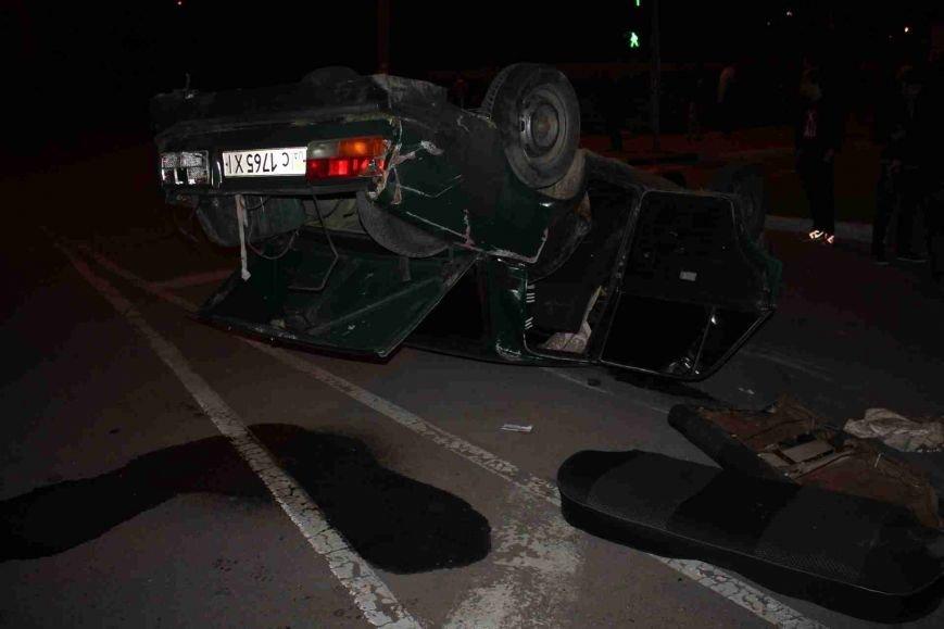 ДТП в Сумах: «семерка» проехала на красный, врезалась и перевернулась (ФОТО), фото-15