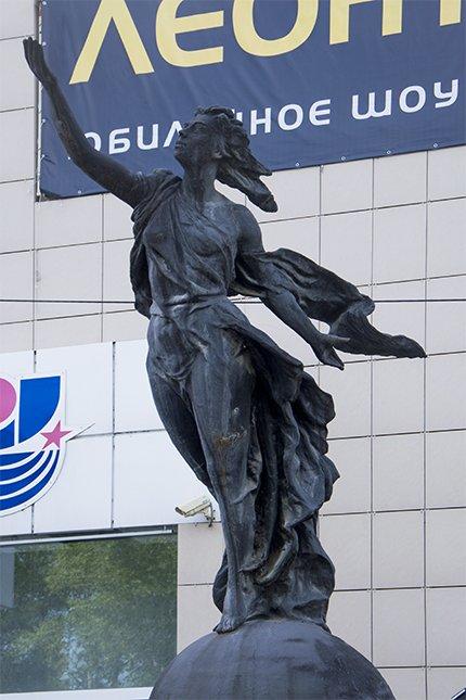 Скульптура «К звездам». Рывок в космос, фото-1
