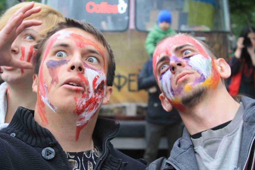 Сумчане встретили День Европы «зомби-апокалипсисом» (ФОТООТЧЕТ), фото-2