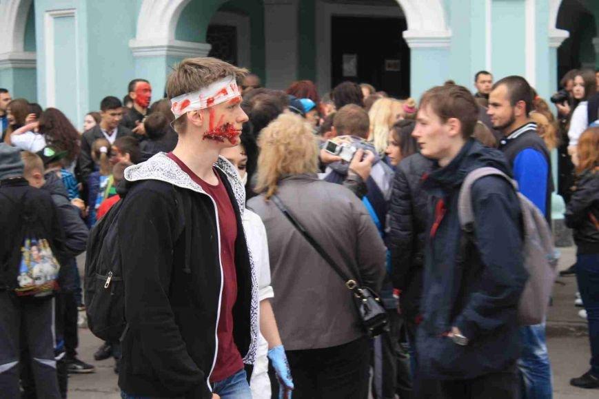 Сумчане встретили День Европы «зомби-апокалипсисом» (ФОТООТЧЕТ), фото-4