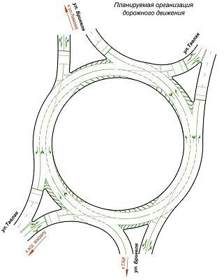 Движение на кольце Брикеля-Тавлая планируется изменить в ближайшее время (фото) - фото 1