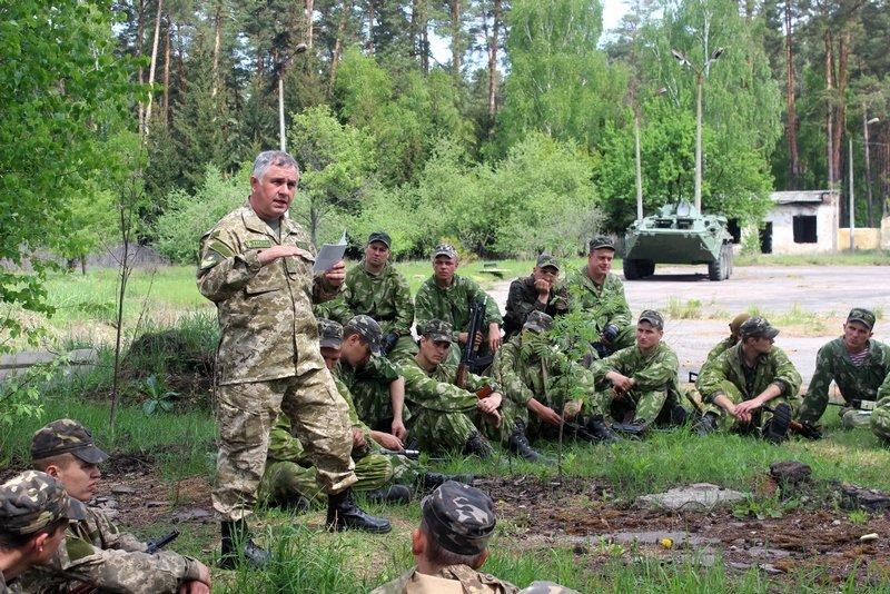 Президентский полк завершил учения на Черниговщине (фото) - фото 1