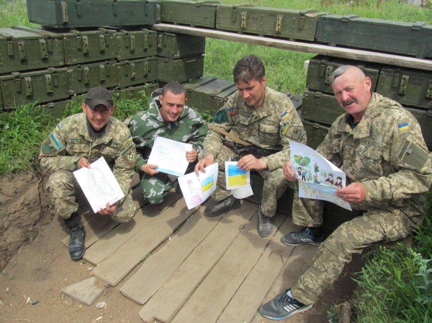 Защитники Мариуполя получили письма от детей из Харькова (ФОТО), фото-1