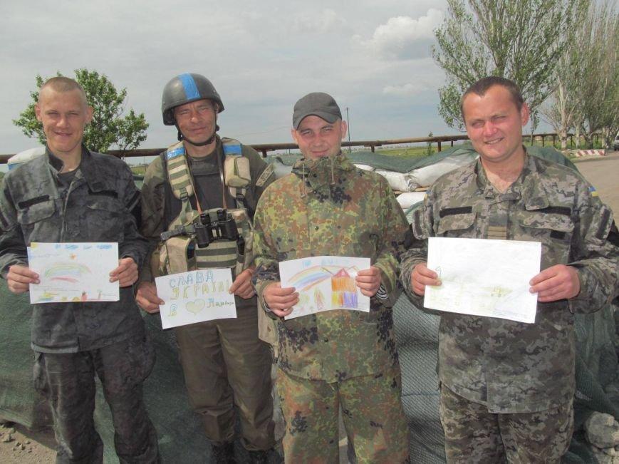 Защитники Мариуполя получили письма от детей из Харькова (ФОТО), фото-4