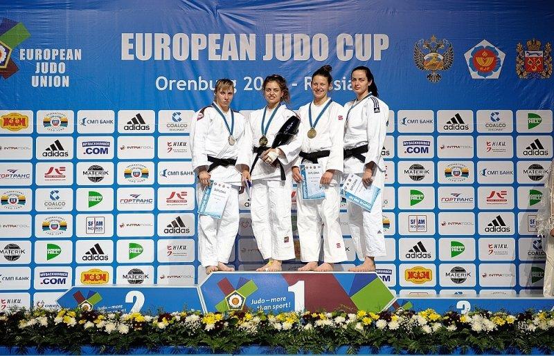 Алупчанка Екатерина Лялина взяла бронзу на Кубке Европы по дзюдо, фото-1