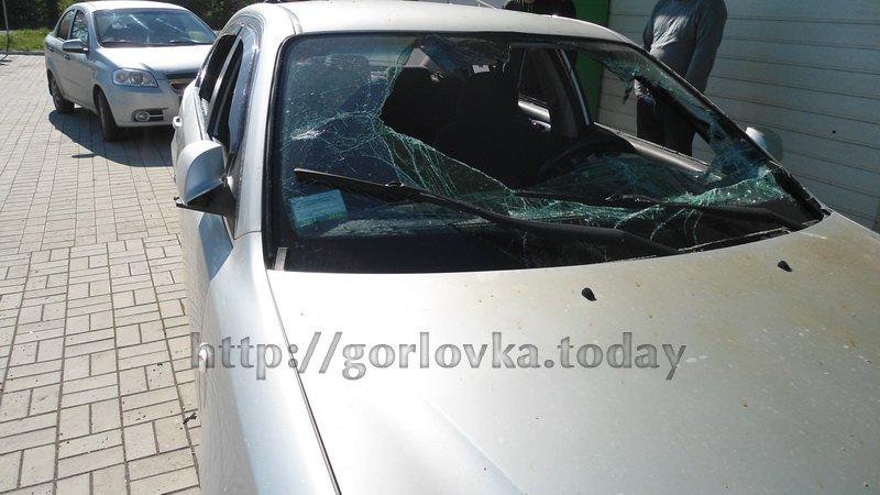 Поседствия взрыва на горловской автозаправке (фото) (фото) - фото 5