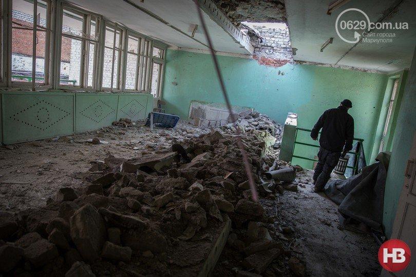 Детский лагерь «Маяк» ГП «Макеевуголь» пострадал от обстрелов (фото) (фото) - фото 3