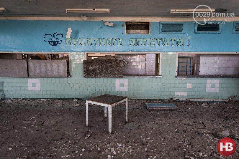 Детский лагерь «Маяк» ГП «Макеевуголь» пострадал от обстрелов (фото) (фото) - фото 1