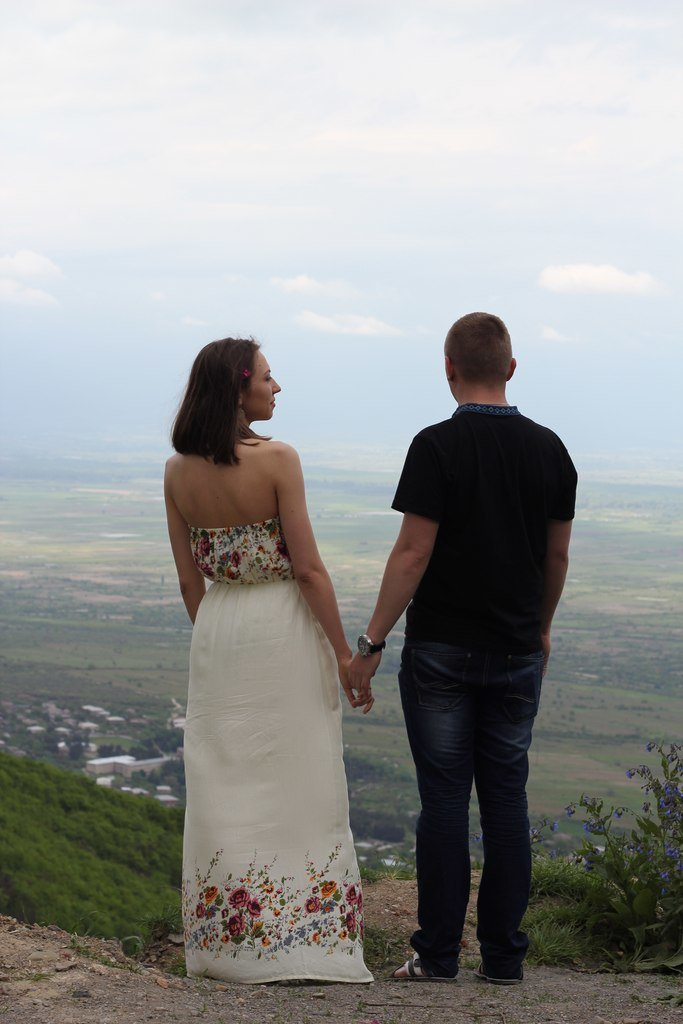 Днепропетровская пара путешественников поженилась в Грузии (фото) - фото 1