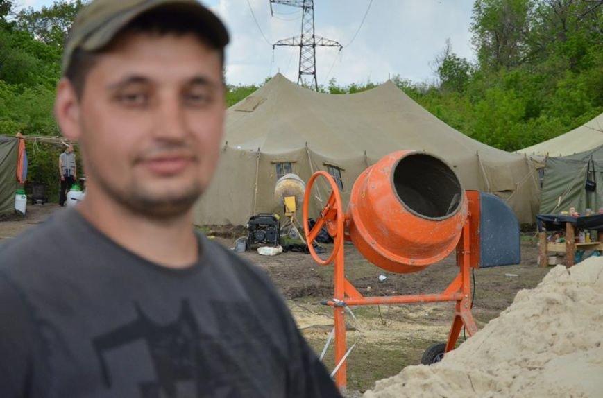 Украинские военные в Луганской области укрепляют оборону (ФОТО), фото-6
