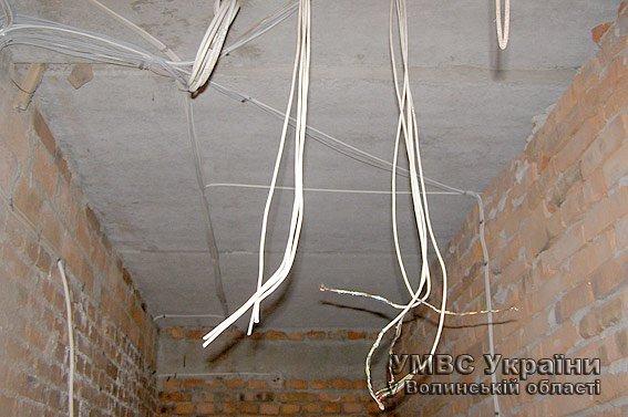340 метрів електрокабелю викрали з новобудови підлітки на Волині (ФОТО) (фото) - фото 1