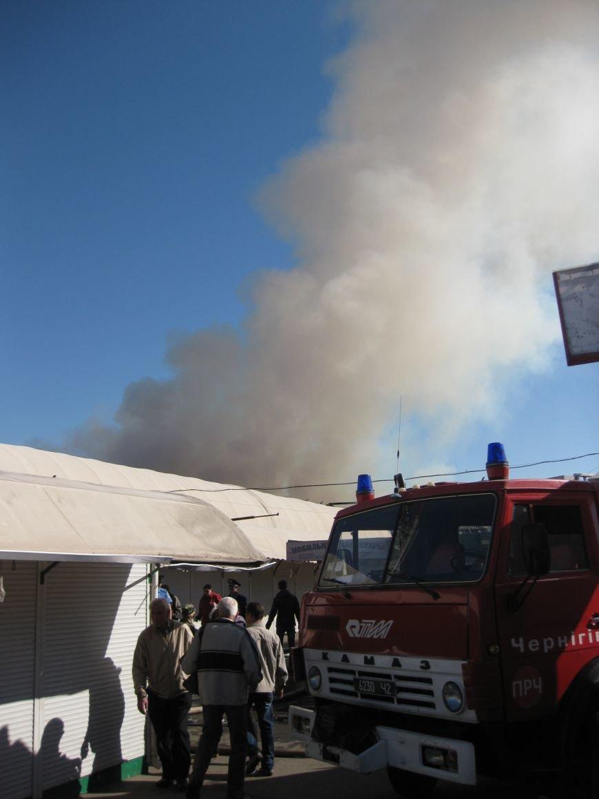 В Чернигове загорелся Центральный рынок (ДОПОЛНЕНО), фото-5