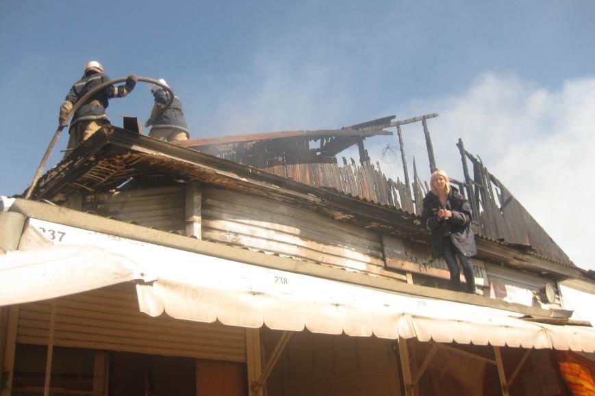 В Чернигове загорелся Центральный рынок (ДОПОЛНЕНО), фото-1