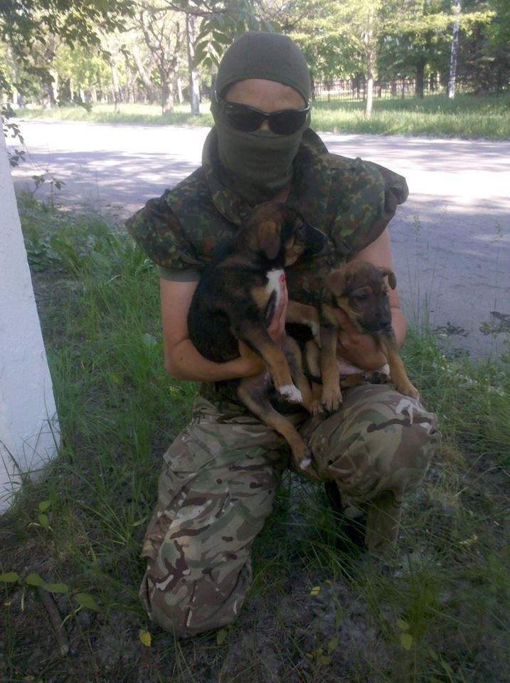 Кинолог полка «Азов» вывезла из Широкино 5 собак (ФОТО), фото-1