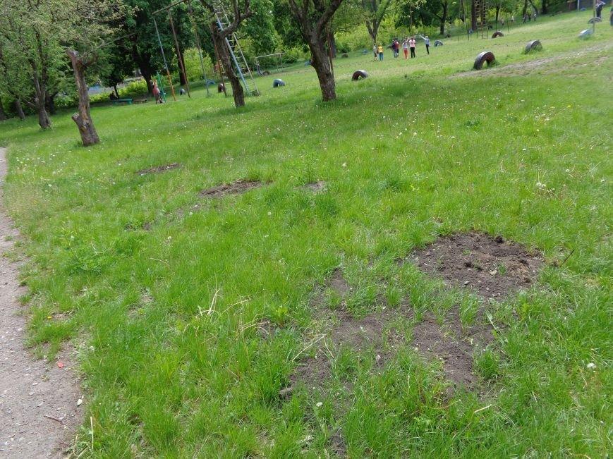 «Они приходят, берут и уходят»: в Красноармейске осквернили Рощу памяти (фото) - фото 3