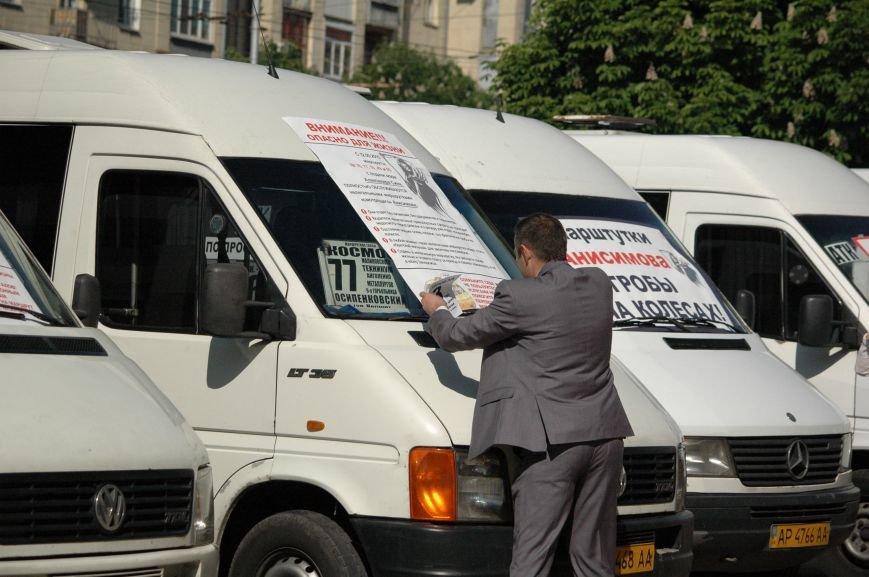 Подробности митинга маршрутчиков в Запорожье: водители выступили против нового начальства, поборов и мэра (ФОТОРЕПОРТАЖ), фото-21