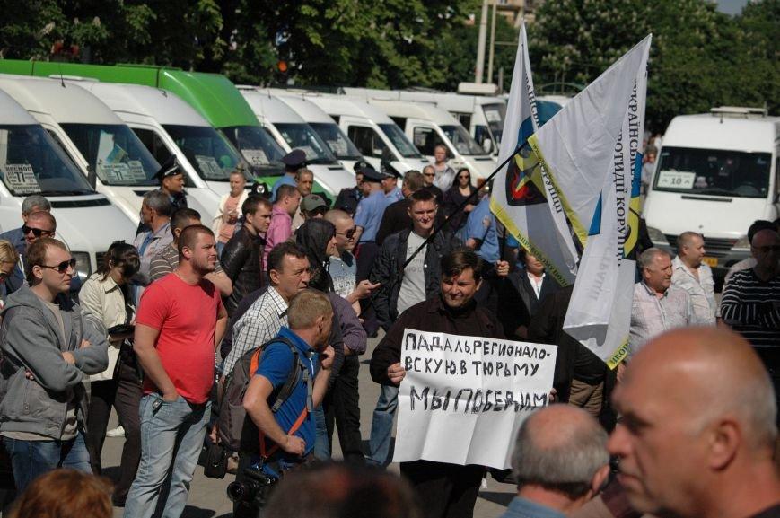 Подробности митинга маршрутчиков в Запорожье: водители выступили против нового начальства, поборов и мэра (ФОТОРЕПОРТАЖ), фото-26