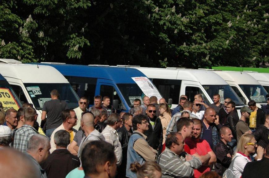 Подробности митинга маршрутчиков в Запорожье: водители выступили против нового начальства, поборов и мэра (ФОТОРЕПОРТАЖ), фото-23