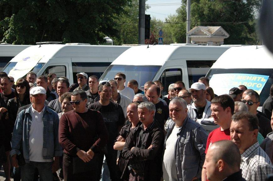 Подробности митинга маршрутчиков в Запорожье: водители выступили против нового начальства, поборов и мэра (ФОТОРЕПОРТАЖ), фото-25