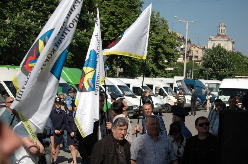 Подробности митинга маршрутчиков в Запорожье: водители выступили против нового начальства, поборов и мэра (ФОТОРЕПОРТАЖ), фото-24