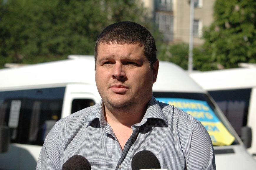 Подробности митинга маршрутчиков в Запорожье: водители выступили против нового начальства, поборов и мэра (ФОТОРЕПОРТАЖ), фото-8