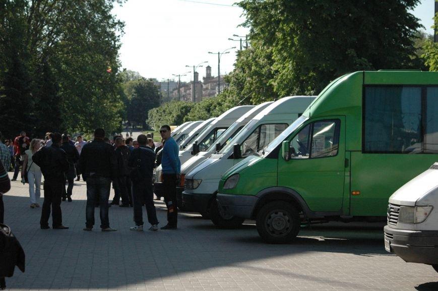 Подробности митинга маршрутчиков в Запорожье: водители выступили против нового начальства, поборов и мэра (ФОТОРЕПОРТАЖ), фото-20